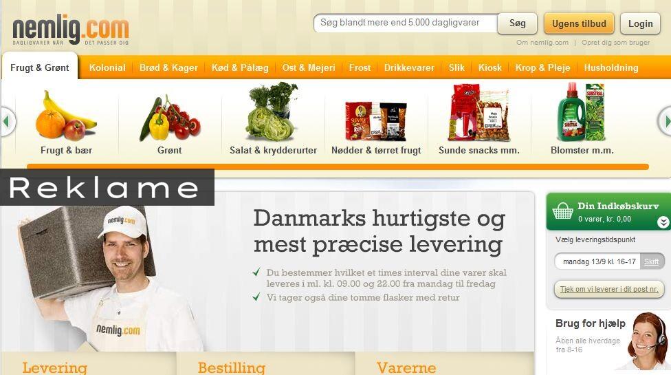 handle dagligvarer online