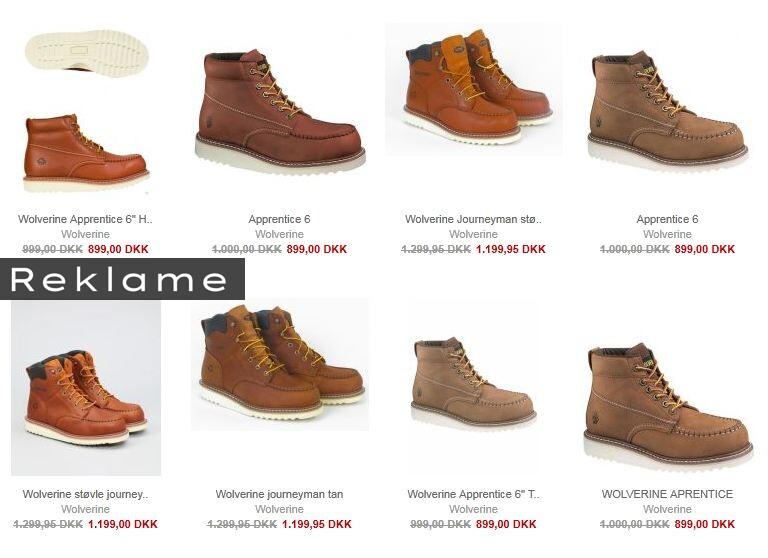 Du kan få sko og støvler fra Wolverine 100 kr. billigere hos netbutikken Miinto.dk.